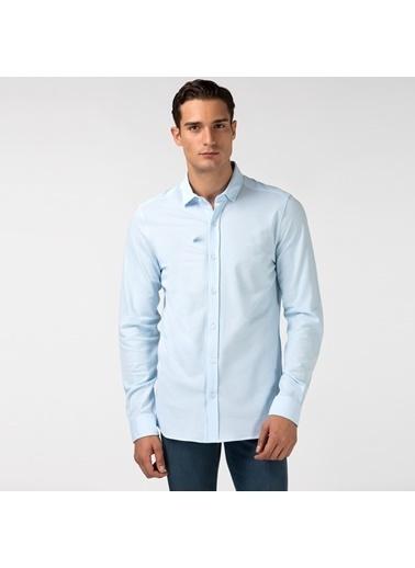 Lacoste Erkek Slim Fit Gömlek CH2150.50M Mavi